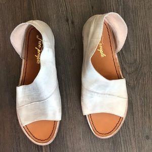 Grey Free People Sandals